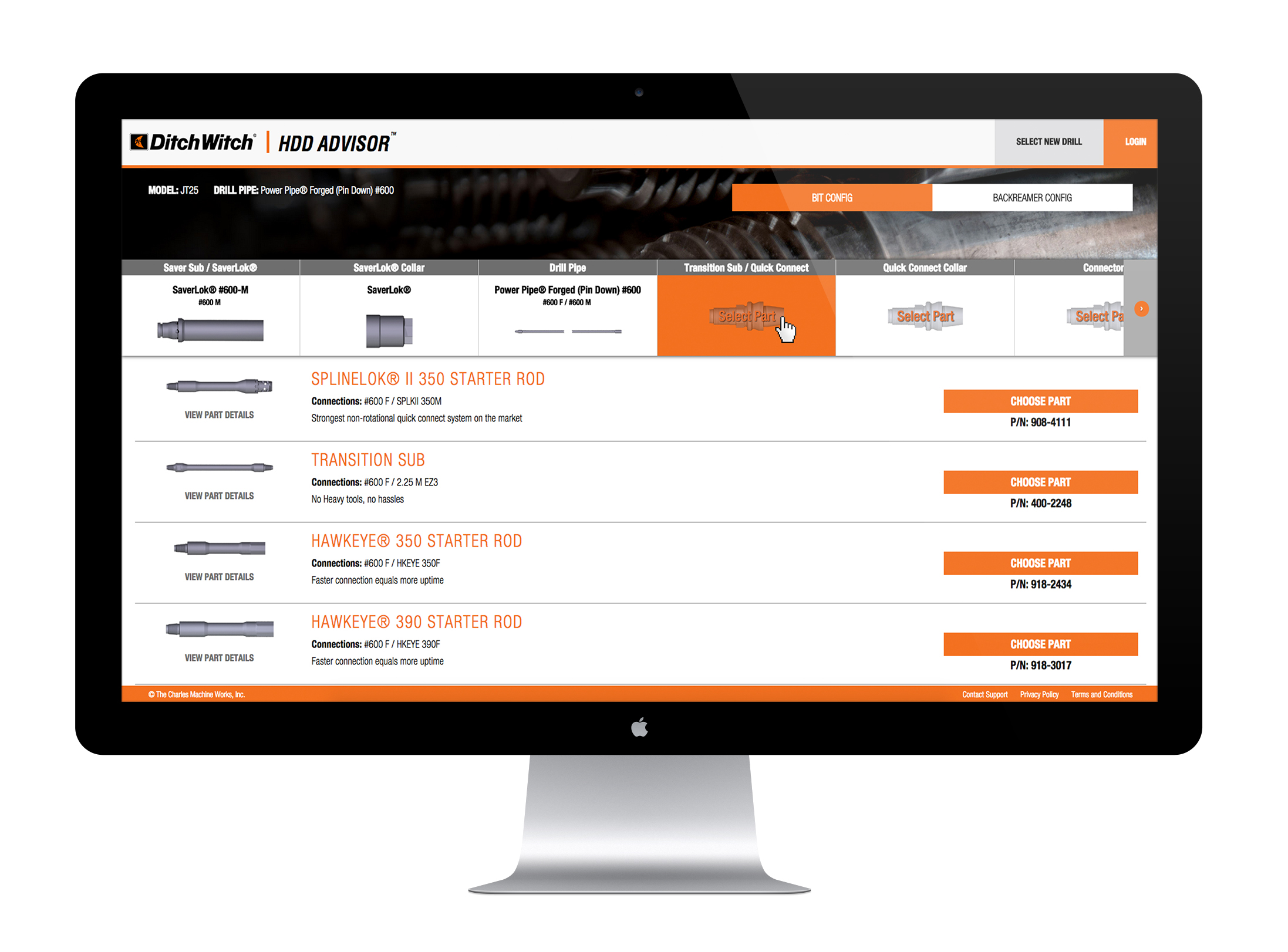 Ditch Witch Equipment Productivity Tools on